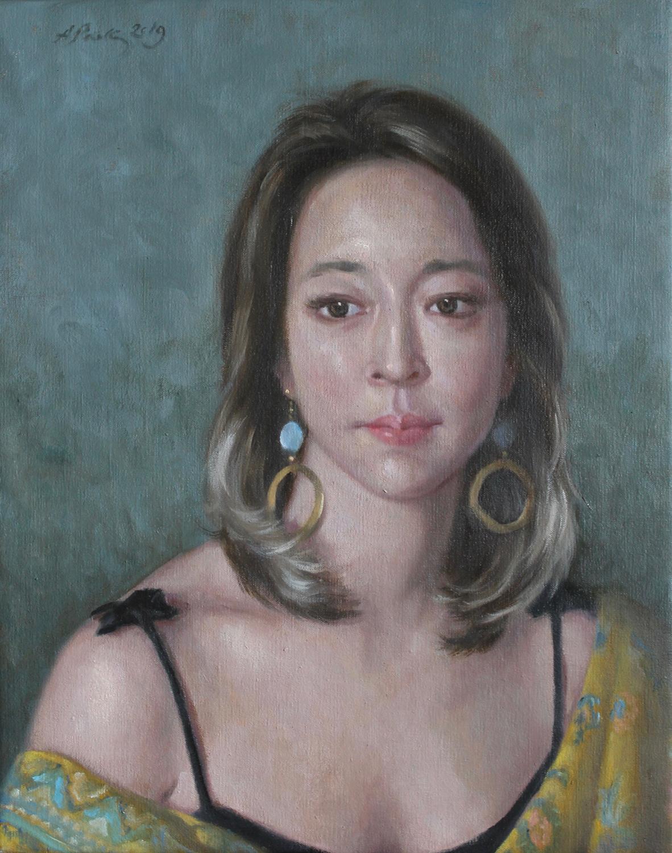 Portrait of Joanna 40x50 cm